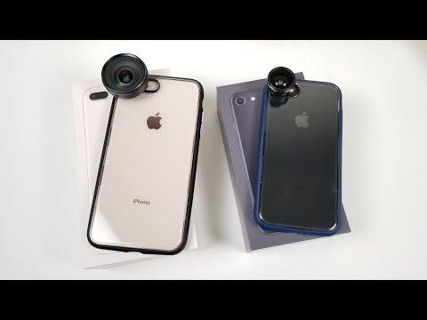 iPhone 8 & 8 Plus Unboxing: Coolest Case???