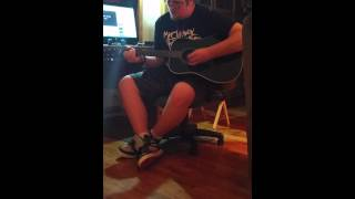 It's Been Awhile by Staind guitar cover