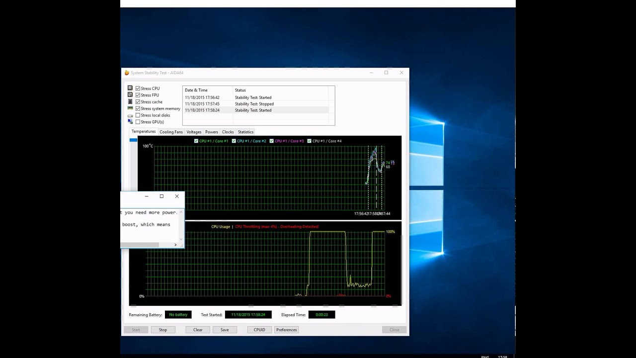 CPU Overheating Fix (for CPUs with Boost/Turbo Technology)