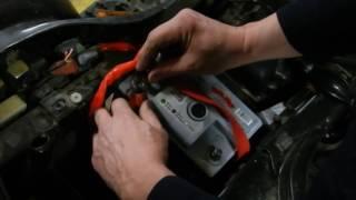 Заміна штатного акумулятора на автомобільний на квадроцыкле CF MOTO 500