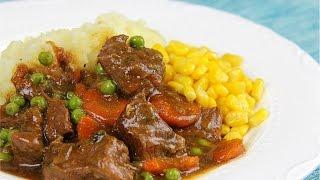Amazing Beef With Gravy Recipe.