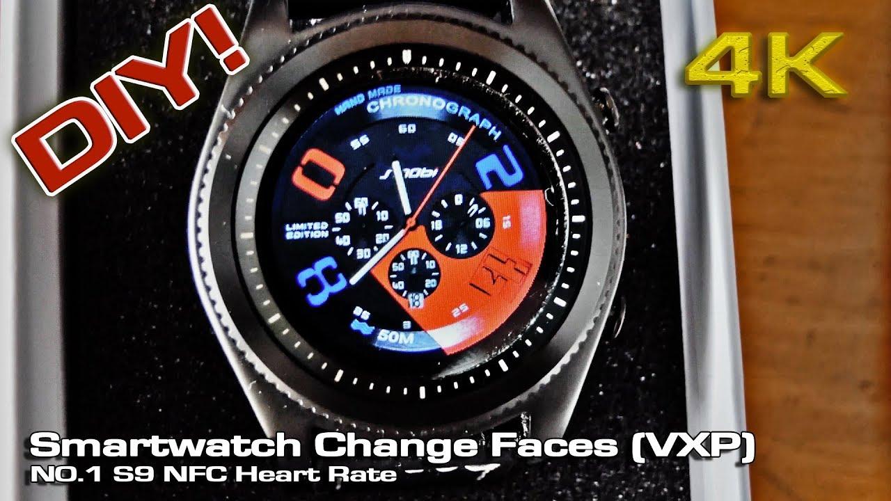 Smartwatch Change Faces (VXP) Nº1 S9 NFC [DIY]