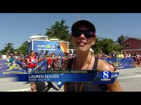 Familiar faces along the course at the Big Sur International Marathon