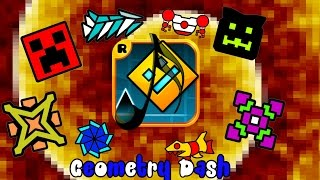 GEOMETRY DASH - ALL MUSIC (FULL, ORIGINAL VERSIONS) HD v1.90
