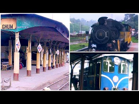 Ghum Railway Station - highest railway station in India