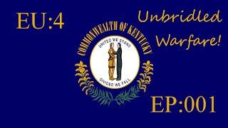 EU4 SuperStates Mod: Kentucky Episode 001