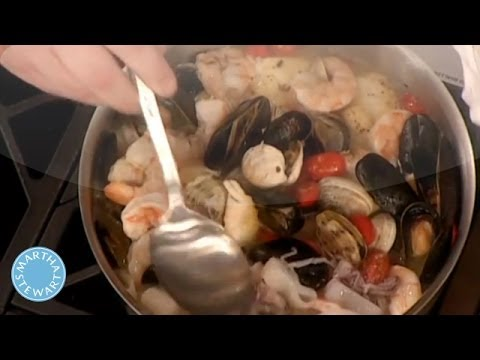 Seafood Stew Recipe with Abigail Breslin – Martha Stewart
