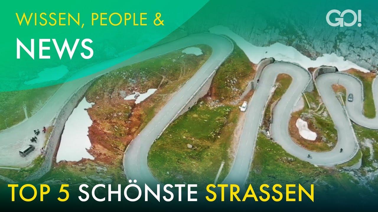 Die schönsten Strecken der Schweiz zum Cruisen