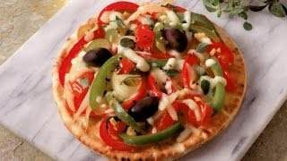 How To Cook A Vegetarian Pizza | P. Allen Smith Cooking Classics