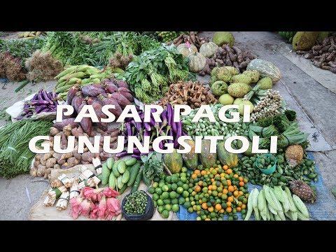 Pasar Pagi Gunungsitoli  Pulau Nias