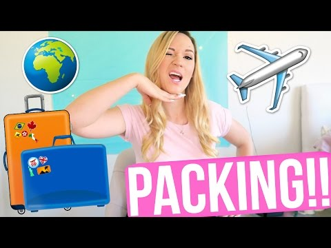 PACKING FOR VACATION!!!!