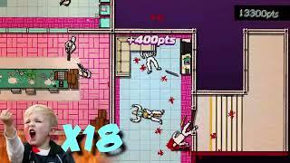 Прохождение Hotline Miami - Страшный Сон #3