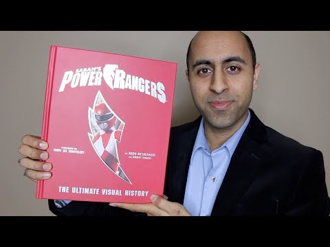 """""""power-rangers:-the-ultimate-visual-history""""-review!"""