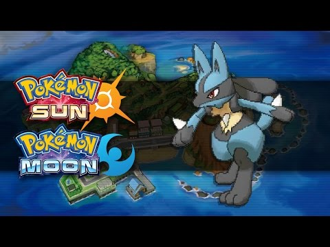 Pokemon Sun and Moon | How To Get Lucario