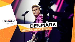Fyr Og Flamme - Øve Os På Hinanden - Second Rehearsal - Denmark 🇩🇰 - Eurovision 2021
