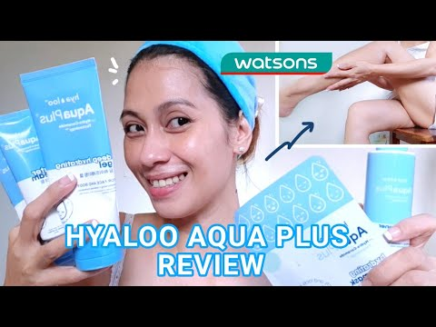 Download HYALOO AQUA PLUS+ REVIEW   NEWEST SKINCARE LINE IN WATSONS