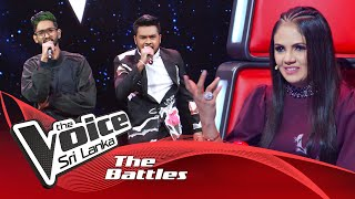 The Battles : Chalanka Lakshan V Binara Dias | Sihinen Sihinen | The Voice Sri Lanka Thumbnail