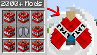 Minecraft, But I Downloaded 2000+ Mods...
