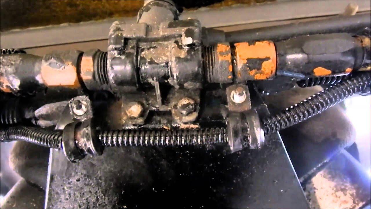 kenworth fueline replace