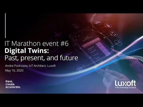 Digital Twins: past, present and future