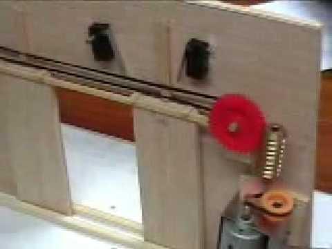 Puerta de garaje doble youtube - Mecanismo puerta garaje ...