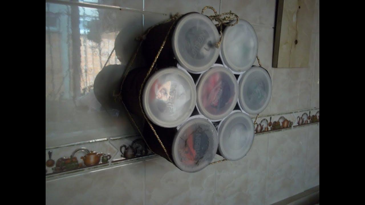 Dispensador de bolsas de plastico youtube - Organizador de bolsas de plastico ...