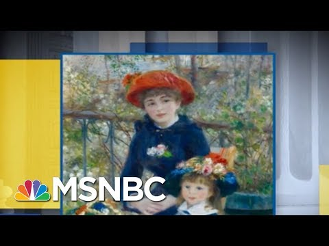 President Donald Trump Insisted His Renoir Is Real, Even Though It's Fake | AM Joy | MSNBC