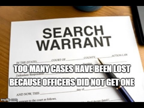 """Police Officer"" Tips & Examples of Writing A Search Warrant - Real Search Warrants"