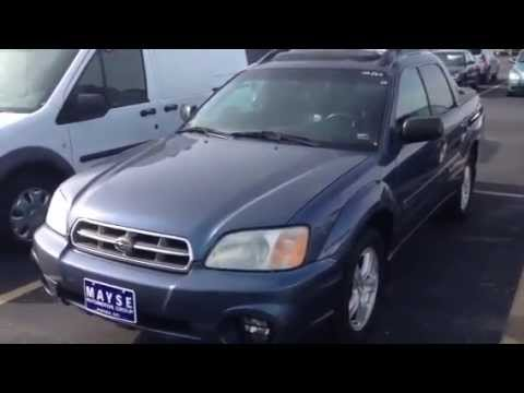 2005 subaru baja sport at mayse automotive near for Mayse motors aurora mo