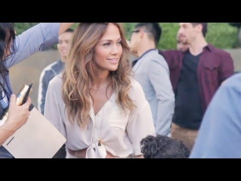 Jennifer Lopez - Papi [Behind The Scenes]