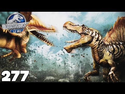 JURASSIC WORLD : Le Jeu 277 - LE CHOC DES TITANS, TROÖDON - royleviking [FR HD]