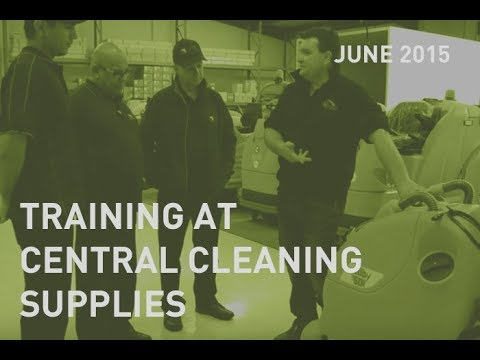CMC Operation Staff train at Central Cleaning Supplies
