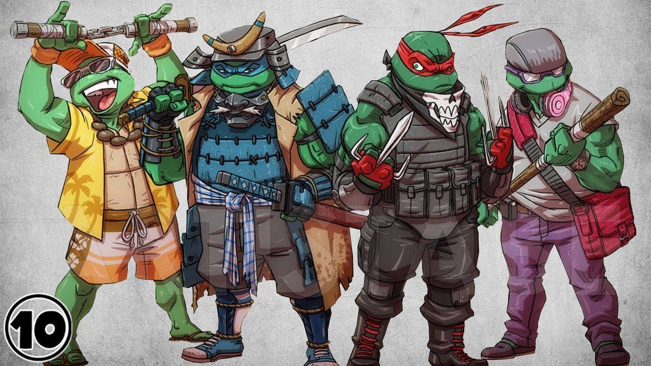 Top 10 Alternate Versions Of The Teenage Mutant Ninja