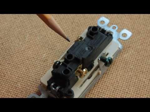 lighted rocker switch hook up