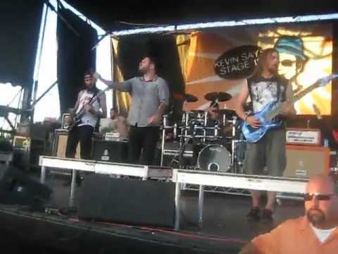After the Burial- Encased In Ice live Warped Tour '12