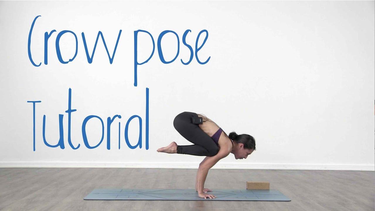 crow pose yoga tutorial   bakasana for beginners