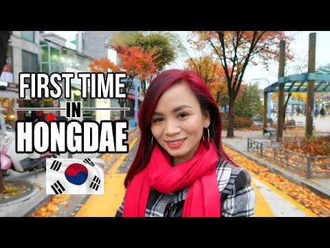 HONGDAE in SEOUL | Popular K Drama Location (Vlog)