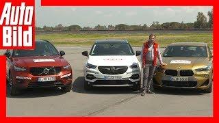 Volvo XC40 vs BMW X2 vs Opel Grandland X (2018) Vergleich/Test/Review