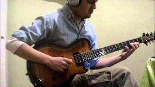 Playing guitar over a beautiful Coffe Break Backing Track