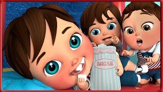 🔴 Baby Shark , Kids Eating Sugar 🎂 , Happy Birthday Song ,Wheels on the Bus  - Banana Cartoon