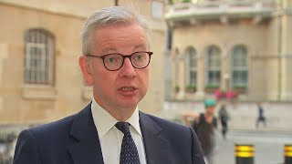 video: Politics latest news: Michael Gove reveals working from home U-turn ahead of Boris Johnson's lockdown address