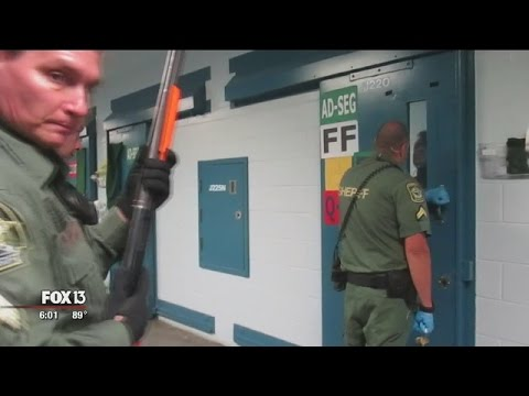 Video shows corrections officer shooting inmate through ...