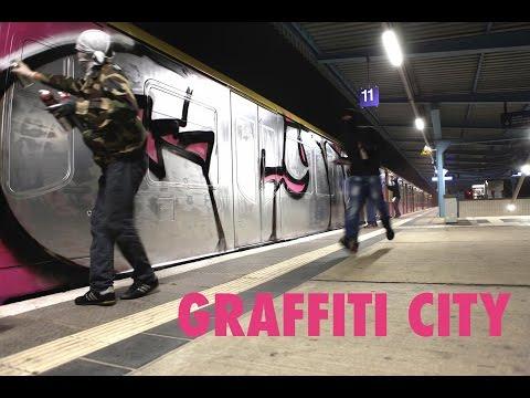Graffiti in Berlin - zwischen Kunst und Crime [GRAFFITY CITY DOKU]