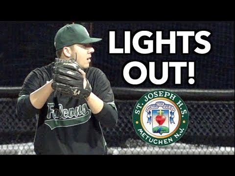 "St. Joes Metuchen - 4 Don Bosco Prep - 1 | Falcons Play ""Lights Out!"" | High School Baseball"