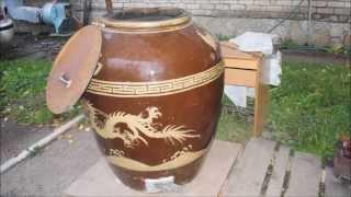 Большой керамический горшок для приготовления пищи(, 2013-10-02T10:36:33.000Z)