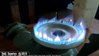 Gasoline Stove (Molecul Gasification)