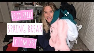 PACK WITH ME FOR SPRING BREAK