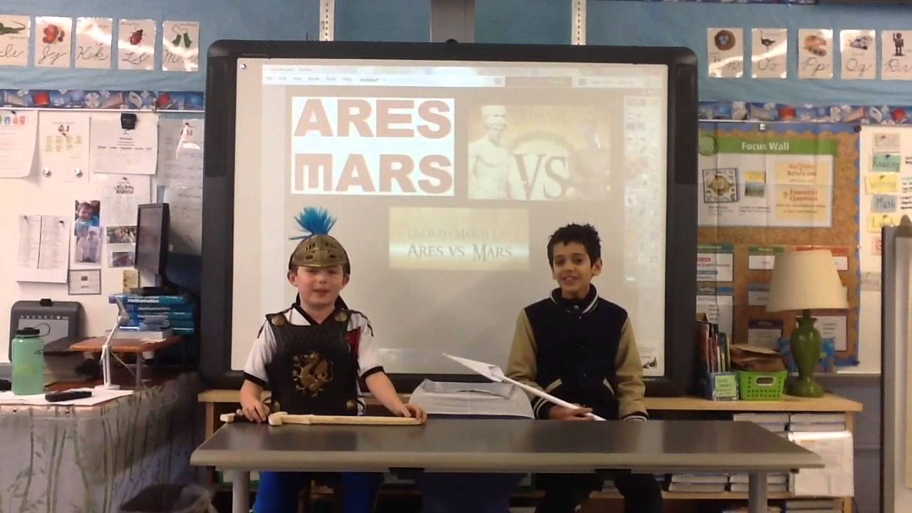 Ares vs Mars 2 - YouTube