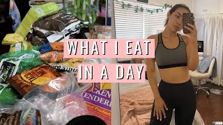 what I eat in a day + healthy Trader Joe's haul!!
