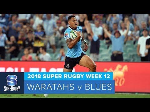 HIGHLIGHTS: 2018 Super Rugby Week 12: Waratahs v Blues